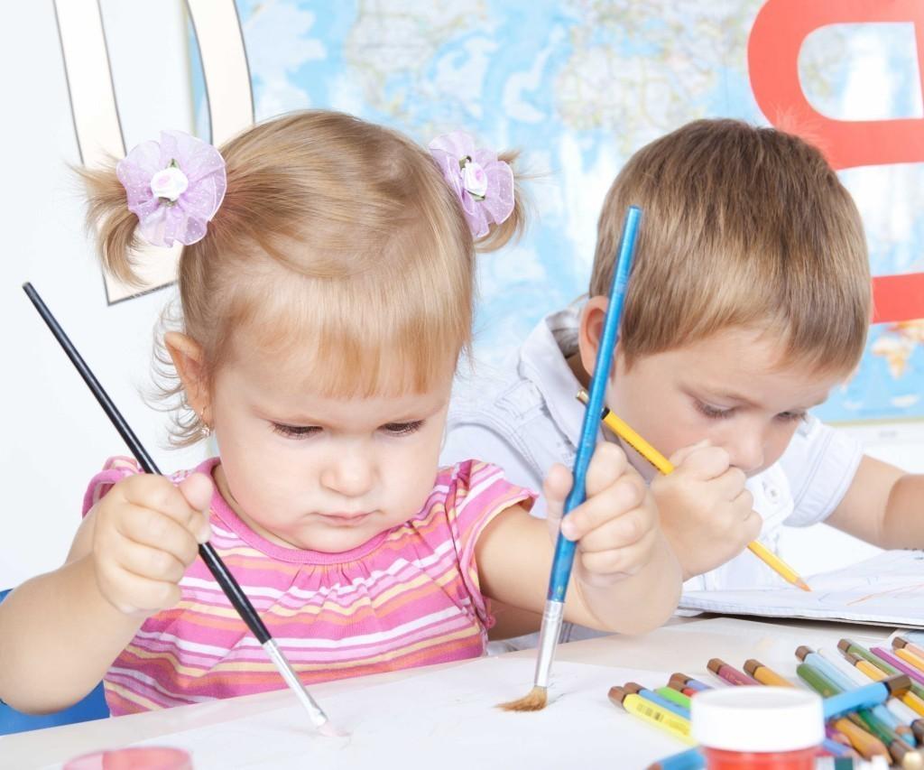 Букетами, картинки дети рисуют